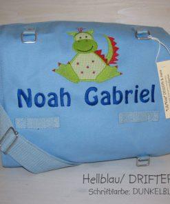 Wickeltasche mit Namen Drache