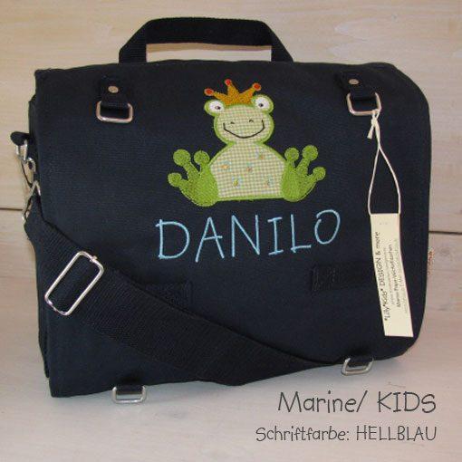 Wickeltasche mit Namen Froschkönig