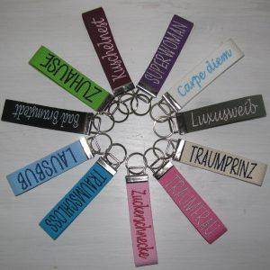 Schlüsselband mit Namen